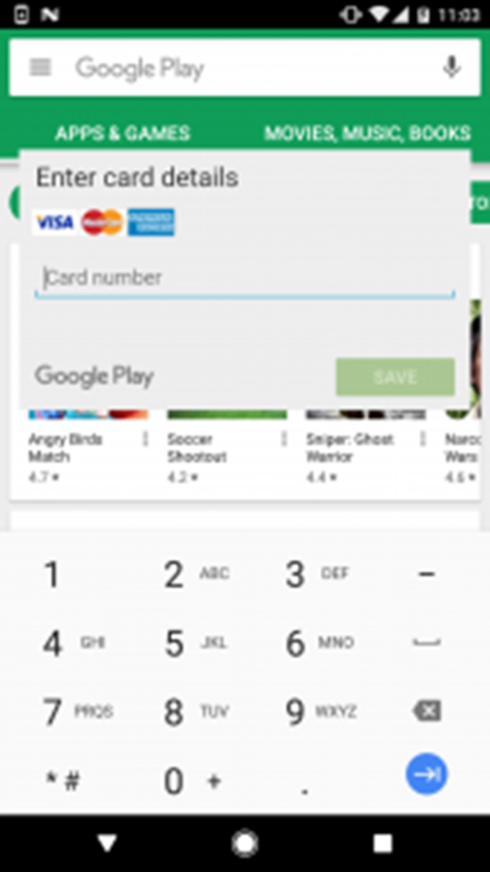 It looks like this pops up even before you buy anything off Google Play Store. <br> Image source: ESET.