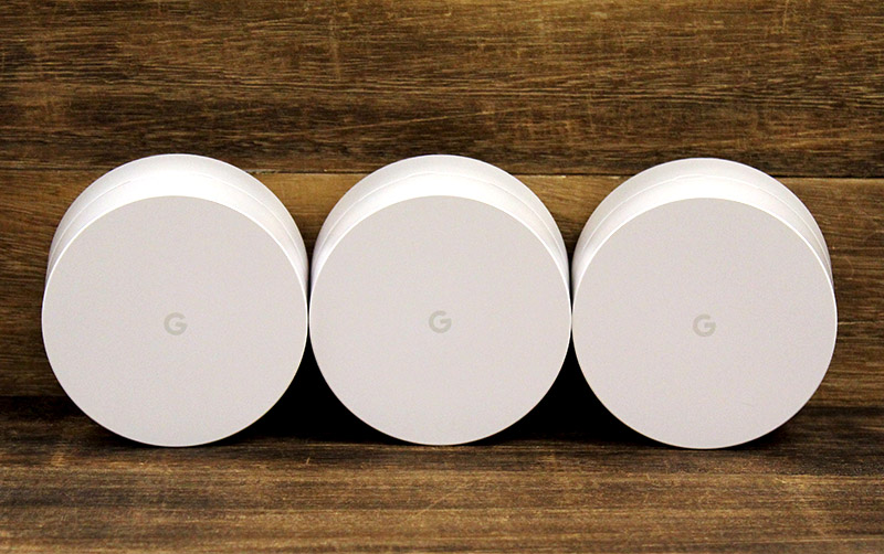 Google Wifi is only available as a three-pack bundle for now.