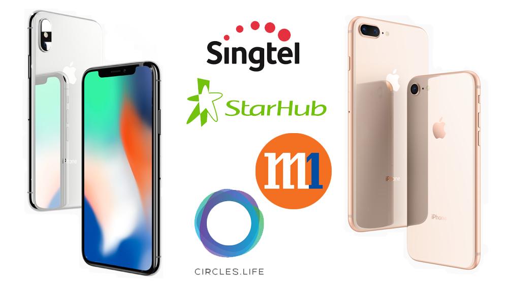 iPhone 8, iPhone 8 Plus, iPhone X telco price plan
