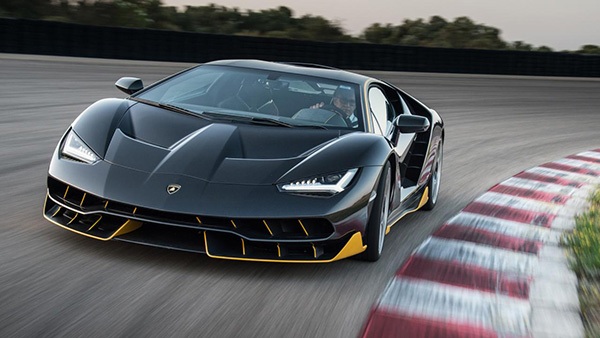 The Lamborghini Centenario lives up to its bombastic name.