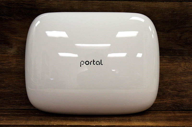 The Portal router has a clean, almost nondescript design that should allow it to blend well into most homes.