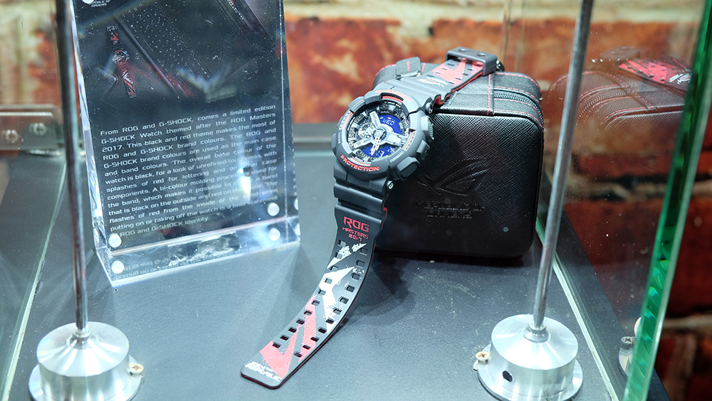 ASUS ROG Casio G-Shock watch
