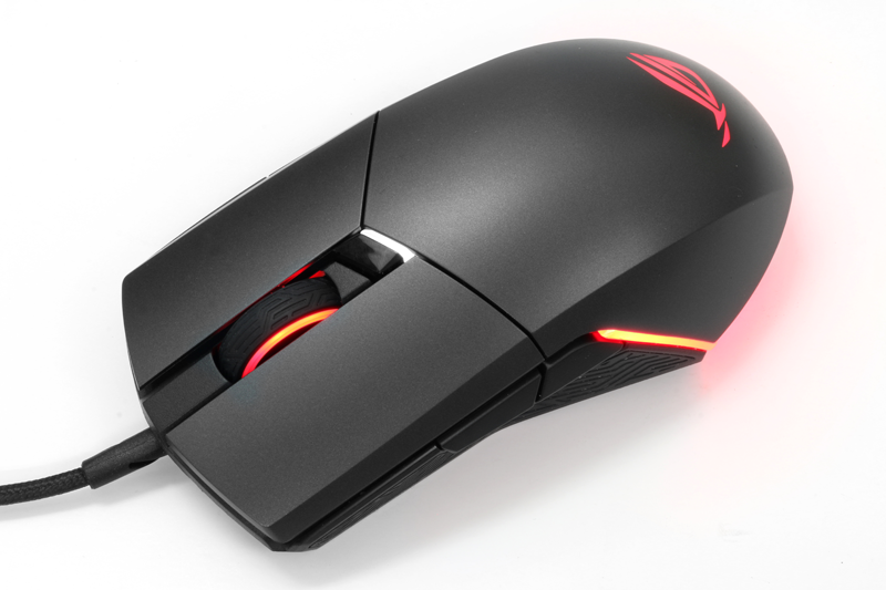 You can switch the DPI sensitivity of the ROG Pugio on the fly using the button right below its scroll wheel. However, you will only have two DPI levels to choose from.