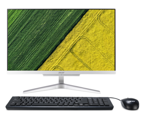 The Aspire C 22 all-in-one PC.