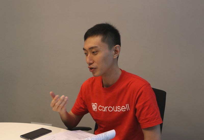 Lucas Ngoo, co-founder and CTO of Carousell.