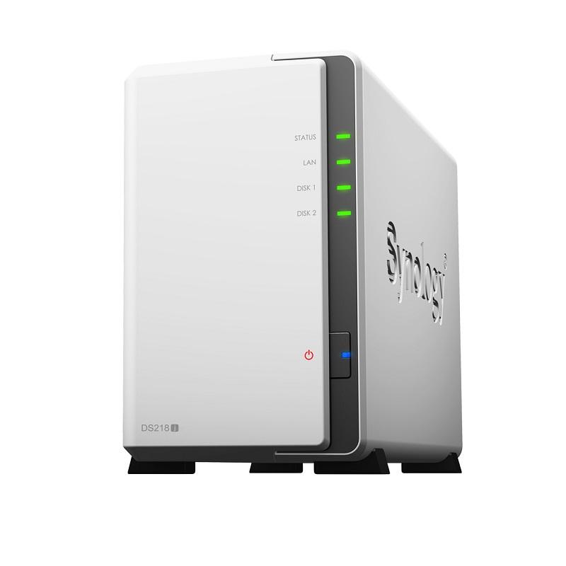 The DiskStation DS218j. <br>Image source: Synology.