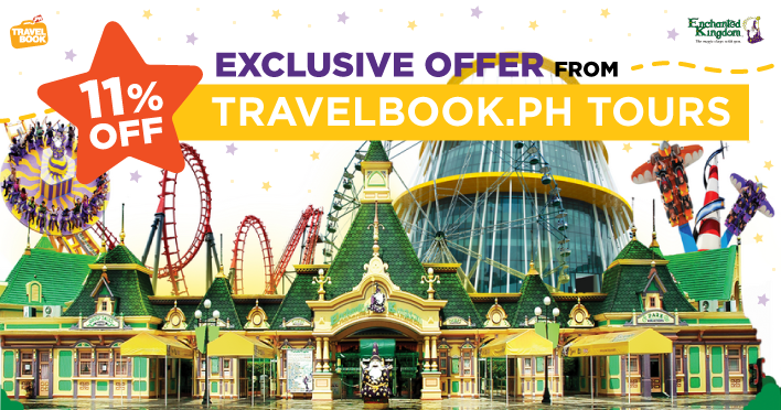 agila: the eksperience, discounted tickets, enchanted kingdom, travelbook.ph