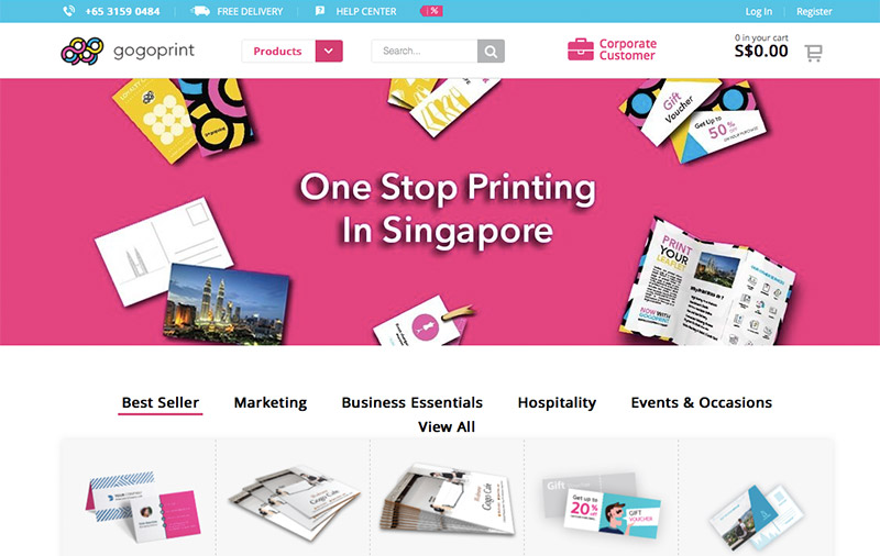 Online Printing Startup Gogoprint Comes To Singapore
