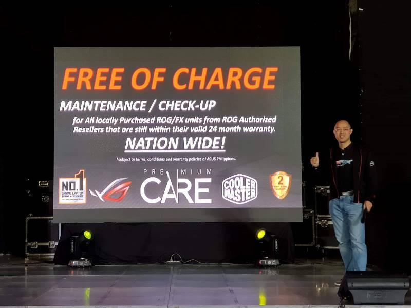 asus, asus rog, maintenance, republic of gamers, rog premium care, service