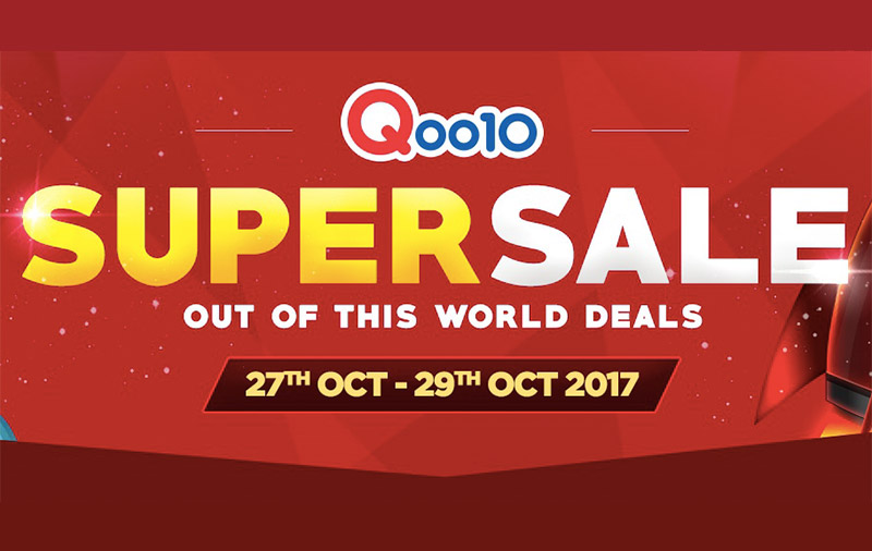 3a816a3303e What to buy at Qoo10's Super Sale event that's happening from Oct 27 to 29