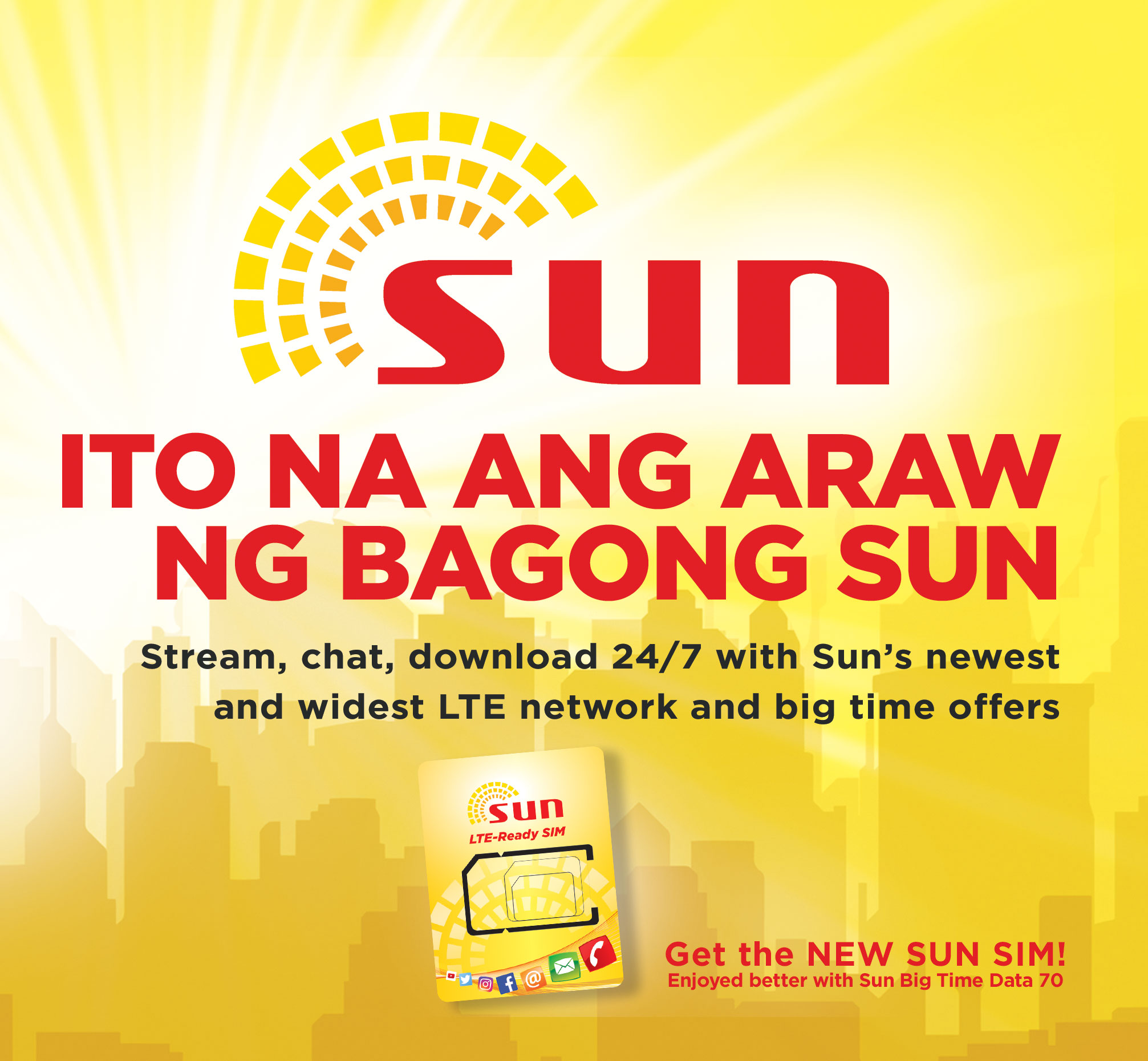 sun upgrades network to lte rolls out new affordable data offers