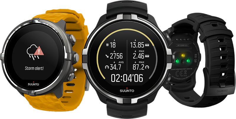 The Suunto Spartan Sport Wrist HR Baro.