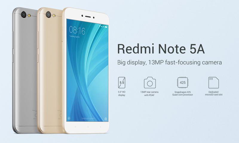 Xiaomi S Redmi Note 5a Is Now Available For Rm549 Hardwarezone Com My