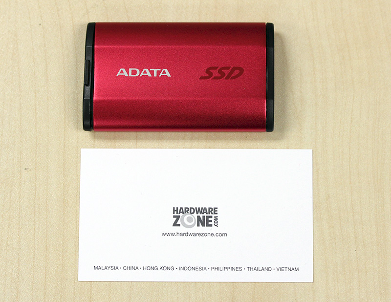 The ADATA SE730H is supremely compact.
