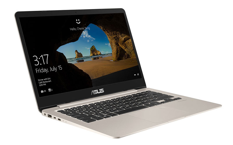 The ASUS VivoBook S14 comes with Intel's 8th-gen chips and