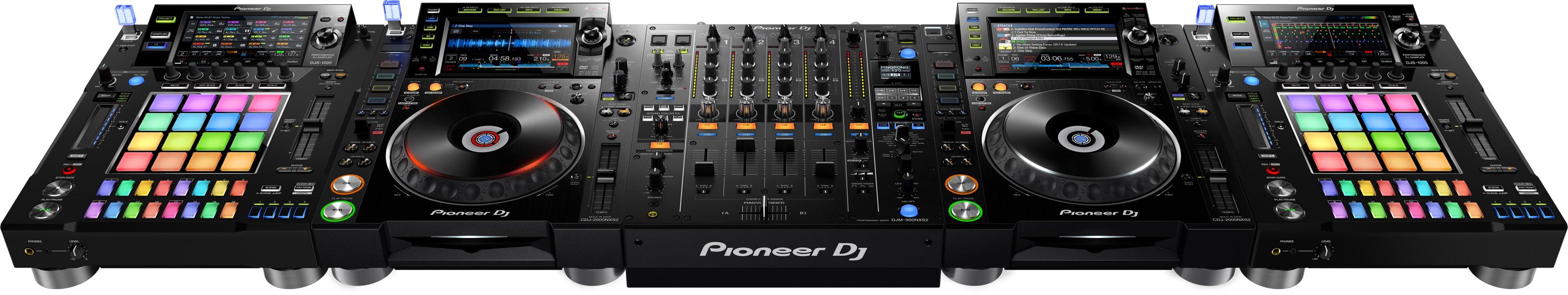 dj sampler, djs-1000, pioneer dj, sounds