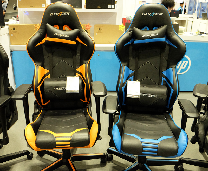Gaming Chairs & Desks : IT Show 2018 highlights
