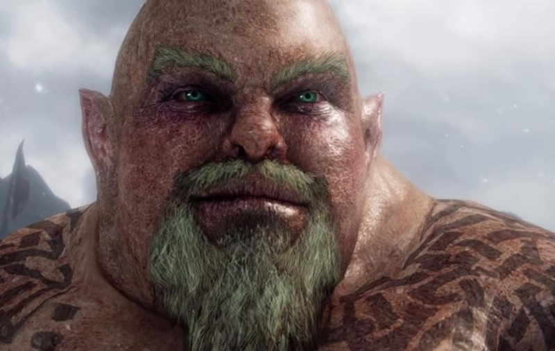 The 'Mysterious Stranger' of Middle-earth, as many would call it. Now that it's a free DLC, more people would get to see this, and perhaps as a result, more people will know of Forgey's contribution to the series. <br>Image source: Warner Bros. Interactive Entertainment.