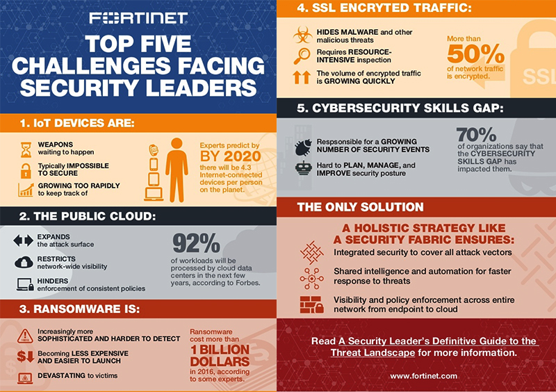 Infographic from Fortinet