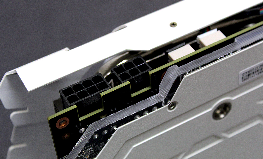 Power comes from 8-pin and 6-pin power connectors.