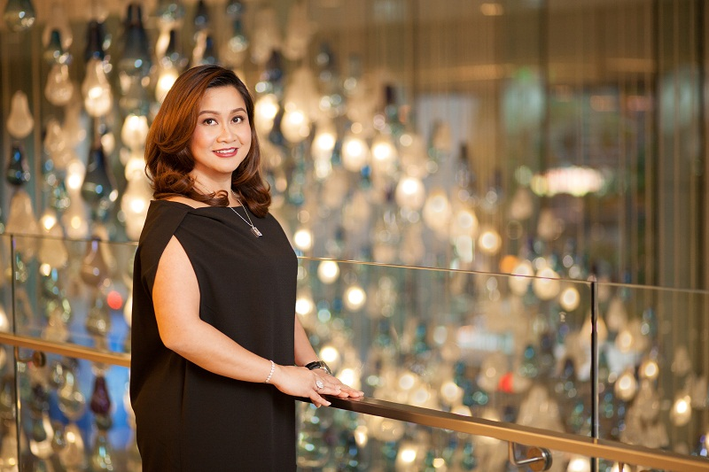 Globe Telecom Senior Vice President for Broadband Business Martha Sazon