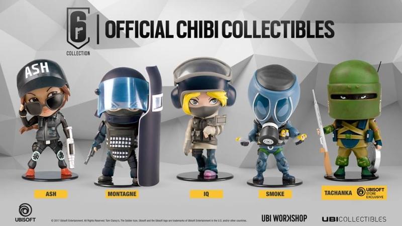 ubisoft chibi  The Ubisoft SIX Collection Chibi are now available - HardwareZone ...