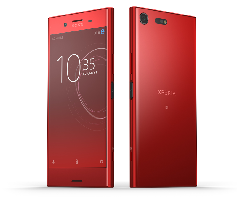 Sony 39 s xperia xz premium in 39 rosso 39 red is gorgeous to for Housse xperia xz premium