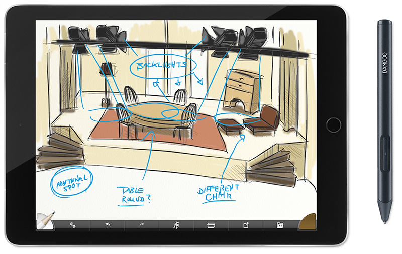 c20dbd6813 Wacom s new Bamboo Sketch brings precision sketching to your iPad ...