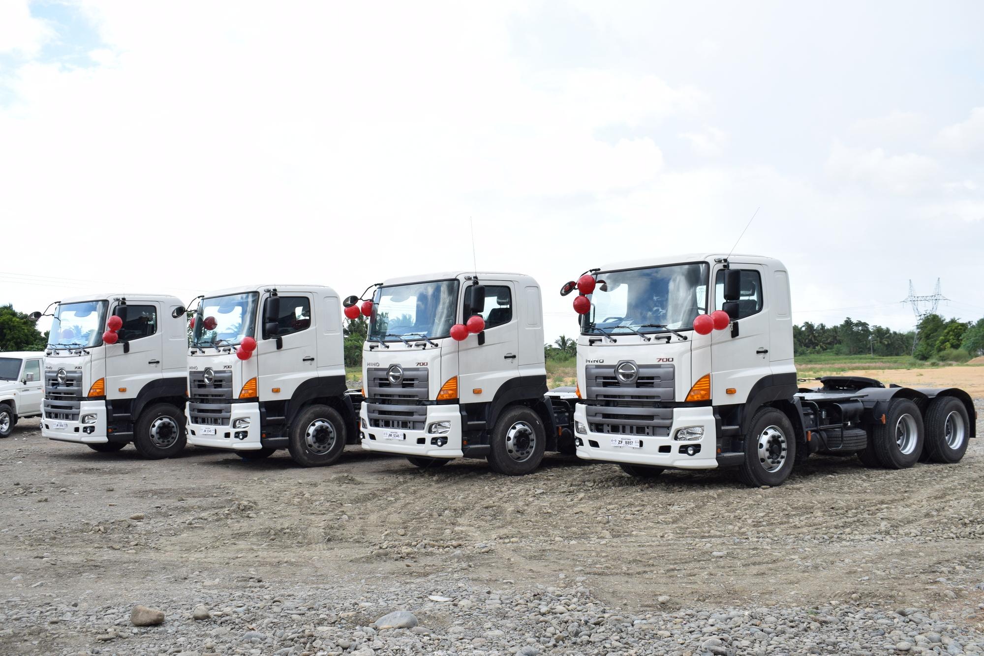 hino, isabela, logistics, trucking