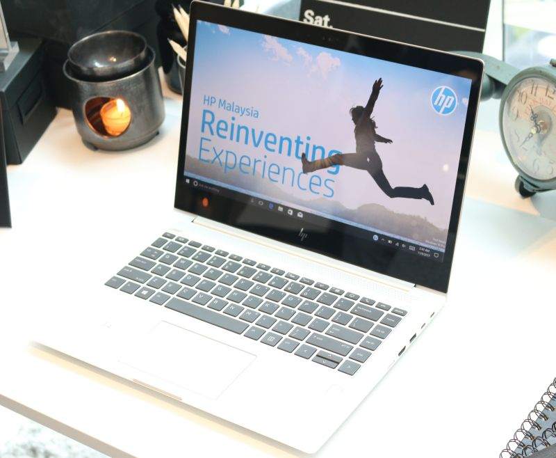 The HP EliteBook 1040 G4 notebook.