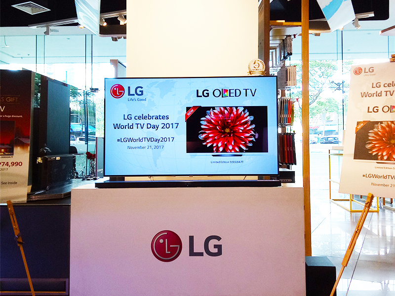 Limited edition 55-inch LG OLED TV