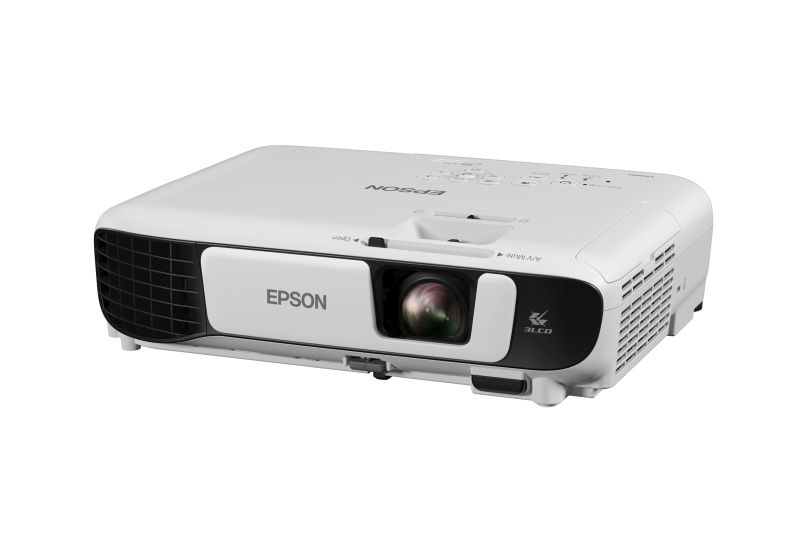 The Epson EB-S41 projector.