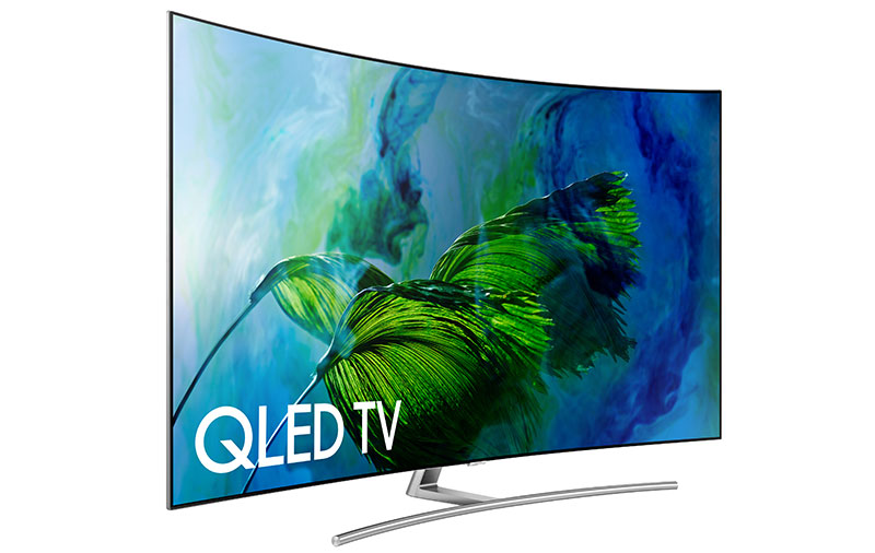 For example, this Samsung Q8C QLED TV that uses quantum dots for high brightness and wide color gamut support is what I call a true HDR TV.
