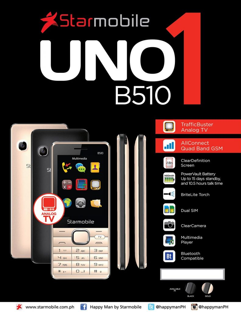 Get a phone and a handy TV with Starmobile\'s latest release for only ...