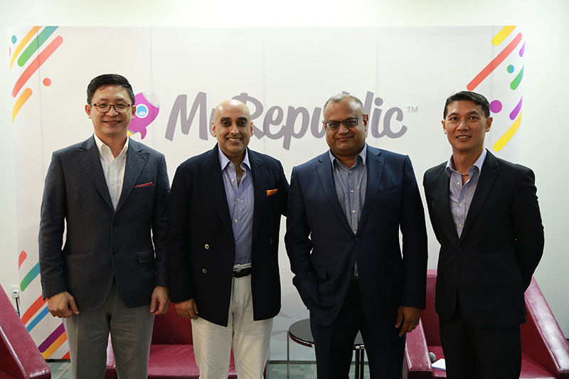 Tan Shau En (Executive Director, IP ValueLabs), Ali Ijaz Ahmad (Co-Founder, CEO, Makara Capital) Malcolm Rodrigues (Group CEO, MyRepublic) Kelvin Tan (Director of Investments, Makara Capital)