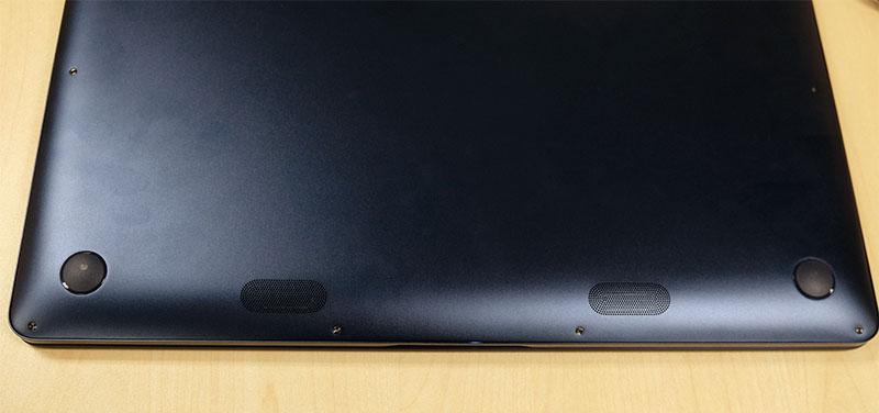ASUS ZenBook Pro UX550 woofers