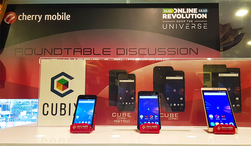 The Cherry Mobile Cube OnRev series.