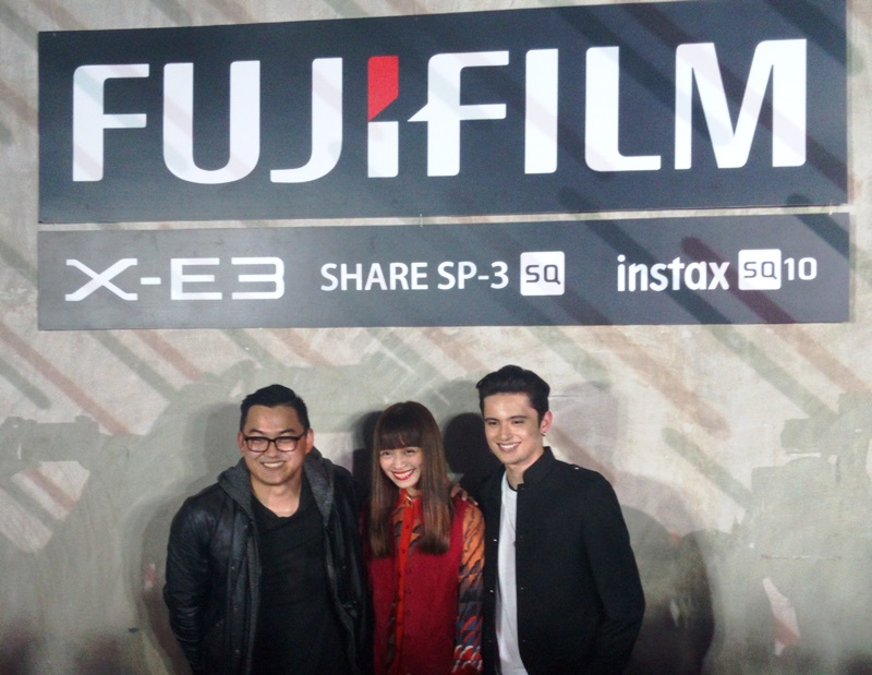 camera, fujifilm, fujifilm lifestyle, fujifilm x-e3, instax, instax share sp-3, james reid, magic liwanag, printer, shaira luna
