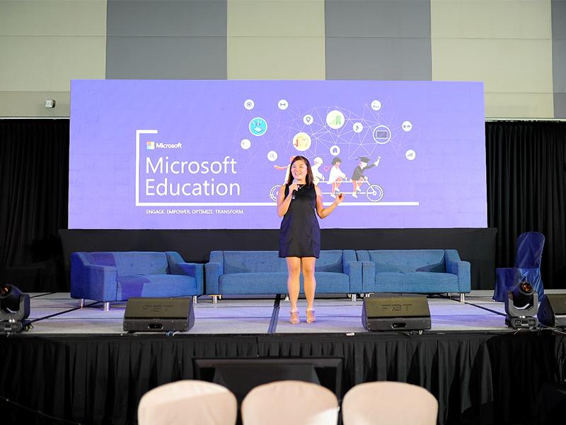 Clarissa Segismundo, Microsoft Philippines Education Programs Lead