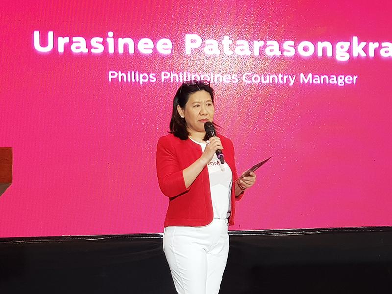 Philips Philippines Country Manager Urasinee Patasongkram