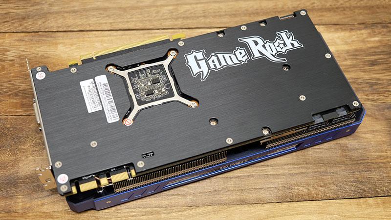 Palit GeForce GTX 1080 Ti GameRock Premium Edition : NVIDIA