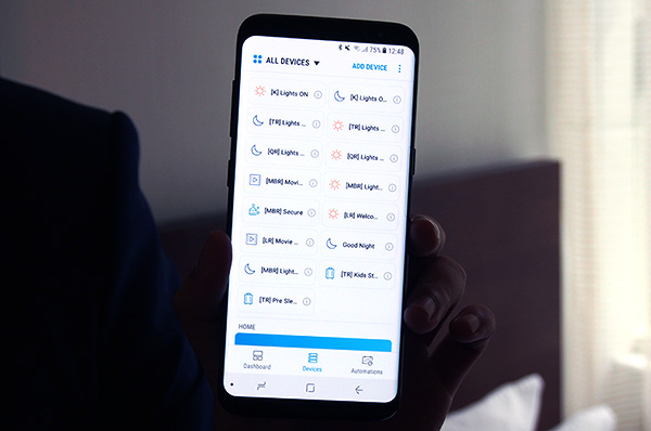 The Smart Connect app lets users manage their smart home devices.