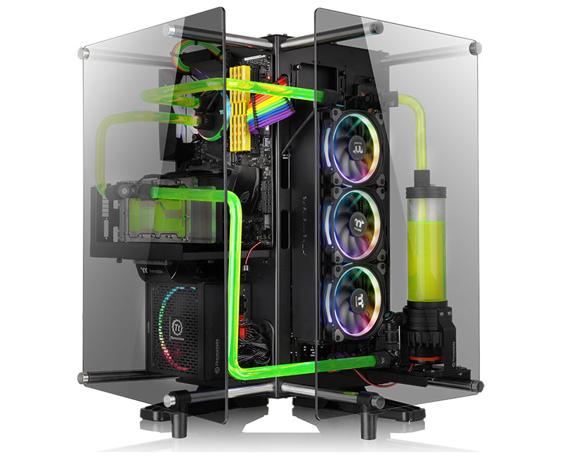The Thermaltake Core P90 Tempered Glass Edition Is