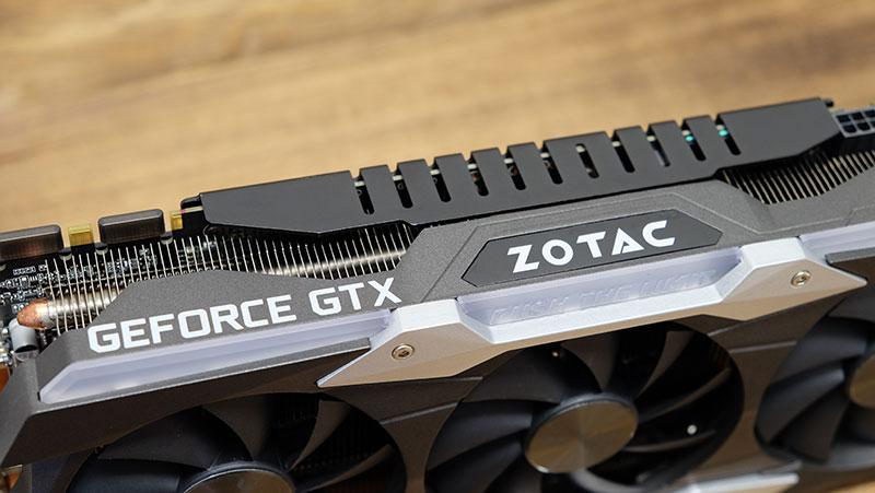 Zotac GeForce GTX 1080 Ti AMP Extreme : NVIDIA GeForce GTX 1080 Ti