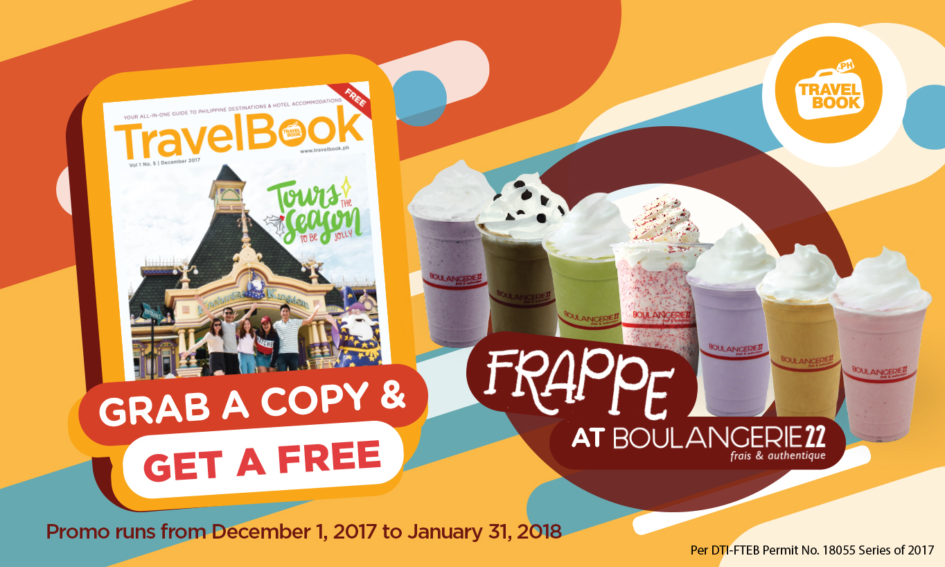 Get free Boulangerie22 frappe! 9Image from TravelBook.ph)