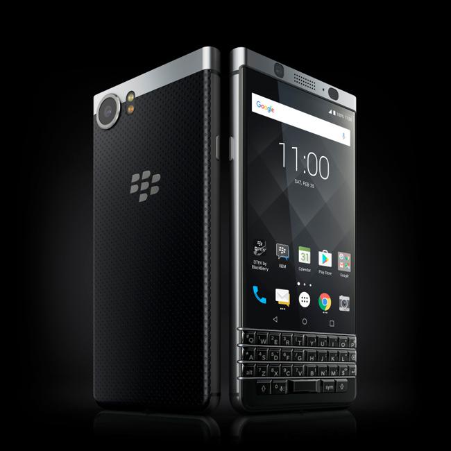 The BlackBerry KEYone. <br> Image source: BlackBerry