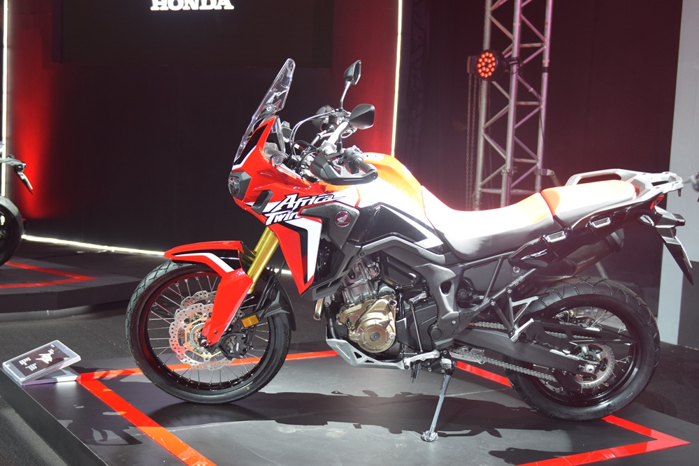 Honda Unveils New Lineup Of Big Bikes In The Philippines