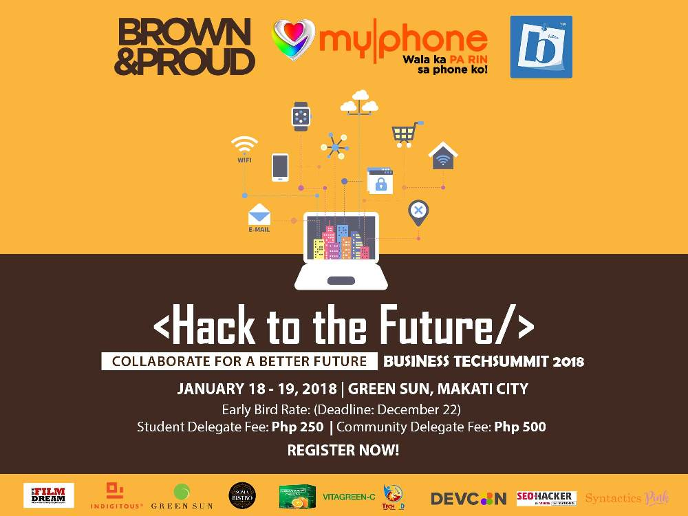 bbulettin, brown & proud, event, myphone, solid group inc., summit, tech