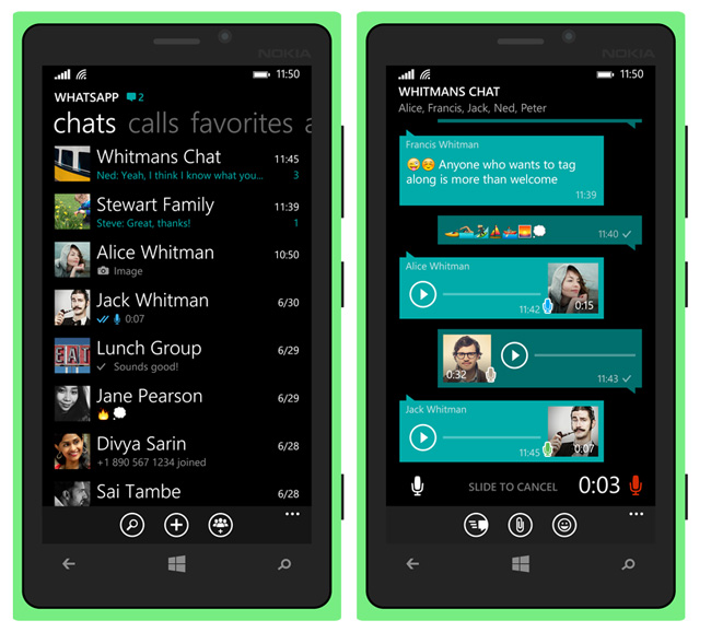 「whatsapp windows phone」の画像検索結果