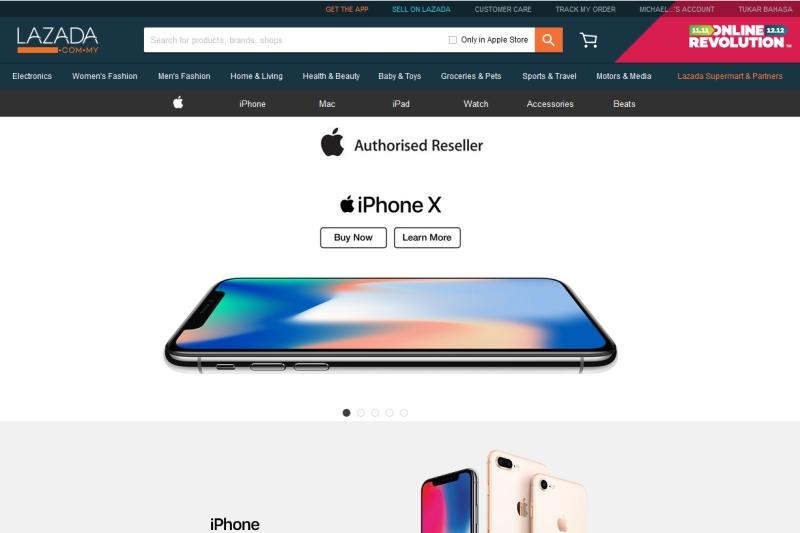 Lazada Malaysia named Apple Authorized Reseller - HardwareZone com my